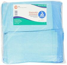 New Disposable Underpad 100pcs Waterproof Urinary Incontinence Bed Pads 17x24""