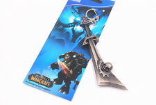 World of Warcraft Corrupted Ashbringer Toy Keychain Keyring 100% New