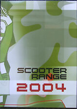 MBK scooter gamme 2004 fold out to poster