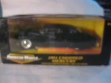American Muscle LE 1951 Chopped Mercury In Flat Black 118 Scale Diecast    dc417