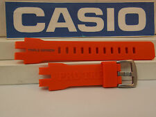 Casio Watch Band PRW-3000 -4 Orange Triple Sensor Pro Trek Strap