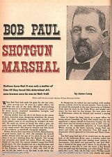 U S. Marshall Bob Paul-Arizona Lawman+Bell,Brown,Casey,Crane,Hart,Head,Long,Otis