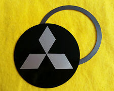 Magnetic Tax Disc Holder fits mitsubishi silver logo