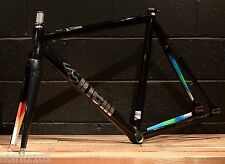 New 2015 Cinelli MASH Histogram 700c Track Frameset 62 cm (XL) Black Pursuit