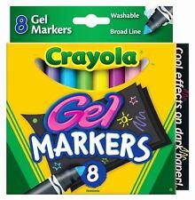 Crayola Digital Light Designer Gel Markers Refill Pack - 8 Washable Gel Markers