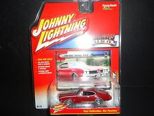 Johnny Lightning Oldsmobile Cutlass 442 1969 Red 1/64 JLMC002A