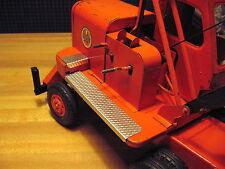 Set of 4 Custom Running Boards, Step Plates for Doepke Unit Crane, Model Toys