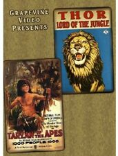Tarzan of the Apes/Thor, Lord of the Jungle (2013, DVD NIEUW)