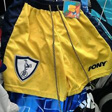 TOTTENHAM HOTSPUR SHORTS 1999 AWAY 24/26  pony AT £9  BRAND NEW