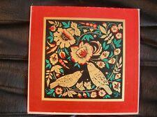 VINYL 25 CM – FOLKLORE WORLD MUSIC – UKRAINIAN MUSIC FOLK SONGS – UKRAINE URSS