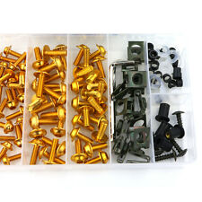CNC Fairing Bolt Kit Bodywork Screws For Honda CBR900RR CBR954 2002 2003 Gold