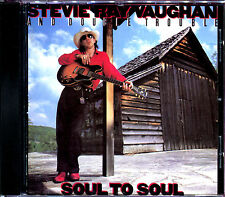 STEVIE RAY VAUGHAN AND DOUBLE TROUBLE - SOUL TO SOUL - CD ALBUM [1107]
