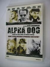ALPHA DOG - DVD PAL VERY GOOD CONDITION - JUSTIN TIMBERLAKE - SHARON STONE
