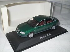 Audi A6 C5 1997 2004 vert metallic green grun Minichamps 1:43 dealer box