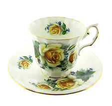 Elizabethan Yellow Rose Fine Bone China Cup and Saucer