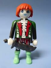 Playmobil Green Ghost Skeleton Pirate & Weapons for Ship / Adventure