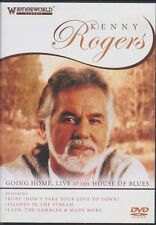 New DVD - Kenny Rogers - Going Home Live at the House of Blues