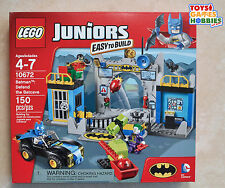 *NEW* LEGO Batman Defend the Batcave Set 10672 - Junior's Easy to Build-HTF cave