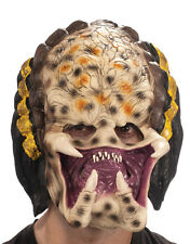 Alien v Predator Costume Accessory, Mens Predator 3/4 Mask
