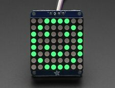 """Adafruit Small 1.2"""" 8x8 LED Matrix w/I2C Backpack - Pure Green"""