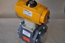 EL-O-MATIC ES100 ES100/A/N5 valve pneumatic 10bar DN65 PN10 PVC-PTFE-EPDM ***NEW