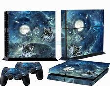 Wolf Custom Sticker for PS4 PlayStation 4 Console Controller Protector Skins