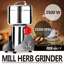 750G Electric Herb Grain Mill Grinder Medical Clinic Flour Powder Wheat Cereal