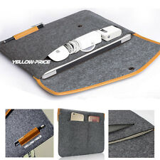 "12"" Laptop Bag Case Sleeve Cover For 12inch New Macbook 2015 w/ hard shell case"