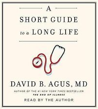 SHORT GUIDE TO A LONG LIFE Audiobook AUDIO BOOK on CDs David Agus 2014 NEW Dr Oz
