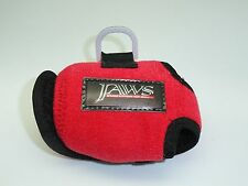"""2 Red Jaws """"S"""" Reel Cover for AVET SX Shimano TRINIDAD 10A 12A Daiwa Saltiga 20"""