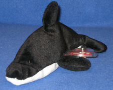 TY SPLASH the ORCA WHALE BEANIE BABY - MINT with MINT TAGS