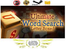 Ultimate Word Search 2: Letter Boxed PC Digital STEAM KEY - Region Free