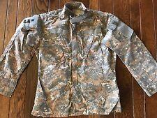 Rare Delta UCP-D Flame Resistant FR Combat Uniform ACU Coat Jacket Med Long NEW