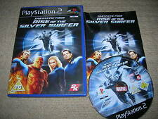 FANTASTIC FOUR : RISE OF THE SILVER SURFER - Rare Sony PS2 Game