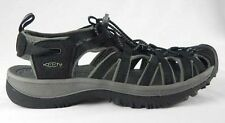 KEEN Womens Whisper Water Hiking Sport Sandals Black NEW Size 6.5