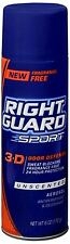 Right Guard Sport Anti-Perspirant Deodorant Spray Unscented 6 oz (Pack of 2)