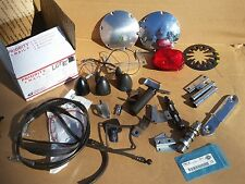 Harley Lights Derby Covers Tail Light Clutch Cable Grip and More Parts Lot E