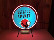 NATURAL AMERICAN SPIRIT CIGARETTES TOBACCO Store Indow Neon Sign Estate Find