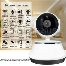 720P Wireless Pan Tilt IP WiFi Camera Security CCTV Network IR Night Vision Kit
