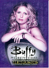 BUFFY THE VAMPIRE SLAYER MEMORIES PROMOTIONAL CARD B-UK