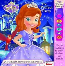 Disney® Sofia the First the Perfect Party : A Flashlight Adventure Sound Book (2