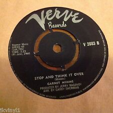 GARNET MIMMS-STOP AND THINK IT OVER/I CAN HEAR MY BABY CRYING-SOUTH AFRICA VERVE