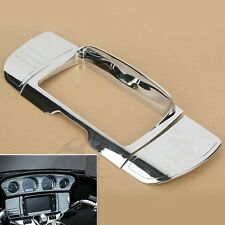 Tri Line Stereo Trim Gauge For Harley Touring Electra Glide Ultra Limited 2014+