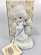 Precious Moments E-1380/G His Burden is Light NEW Box 80 Girl w Papoose