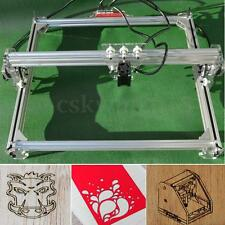 3000MW Laser Engraver DIY Engraving Cutting Machine Logo Mark Printer 50X65cm