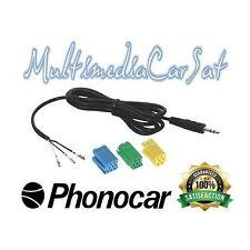 Phonocar 4/107 Cavo Aux In Autoradio Musica Renault Kangoo Laguna Megane Scenic