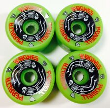 "POWELL PERALTA ""G BONES"" GREEN NEW OLD STOCK ORIGINAL 64MM 90A VINTAGE WHEELS"