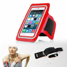 "iPhone 6 4.7"" Red Premium Sports Armband Cover Case Running Gym Workout"