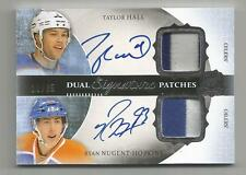 15/16 UD THE CUP 13/14 UPDATE HALL/NUGENT-HOPKINS DUAL AUTO PATCH #D 11/35