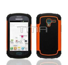 Impact Dual Layer Shock Proof Case For Samsung Galaxy Ace 2 II-E T599 - Orange